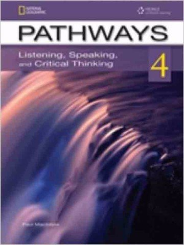Pathways - Listening, Speaking 4: Student book with Online Worbook