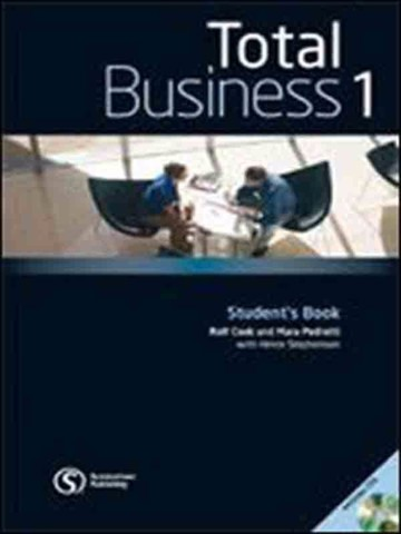 Total Business 1: Student Book with Class Audio CD