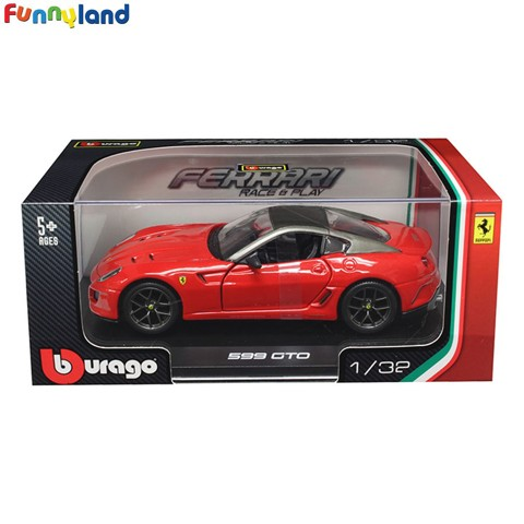 1:32 Ferrari 599 Gto - Metallic Red (Model Kit) ('11)