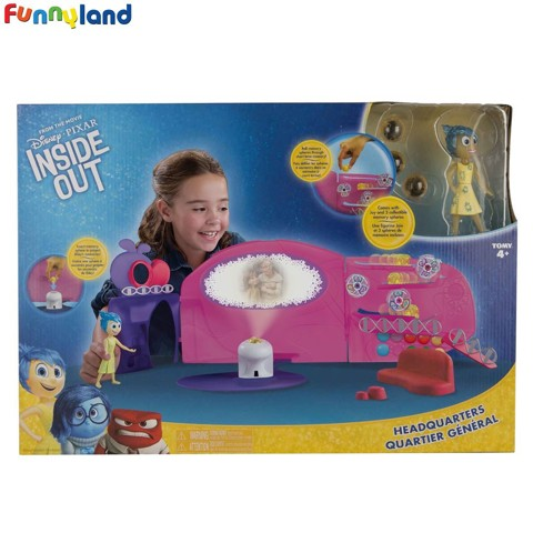 Trạm trung tâm Inside Out (Inside Out Headquarters Playset)