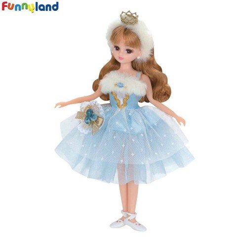 Búp bê Tomy Licca LD-09 Cute Ballerina Fashion Doll