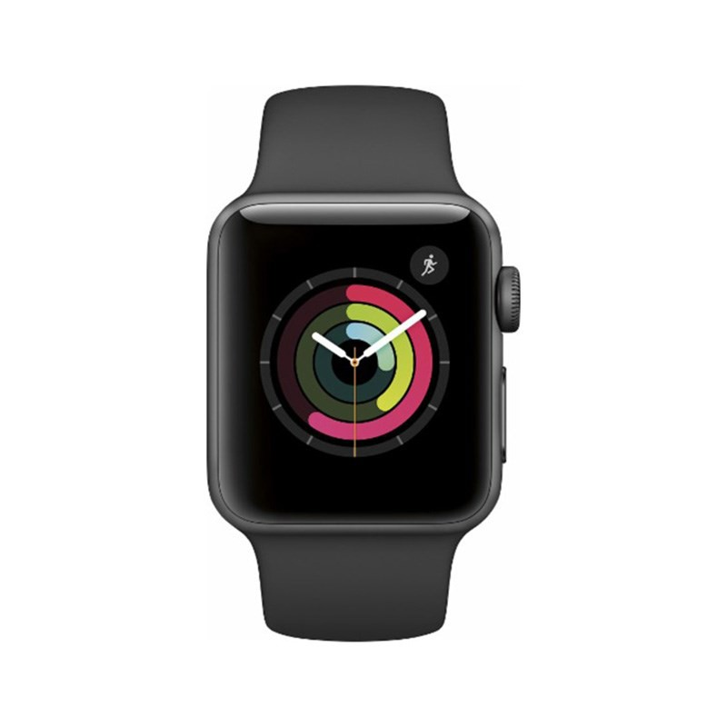  Apple Series 2 42mm Space Gray Aluminum - Sport Band - MP062LL/A