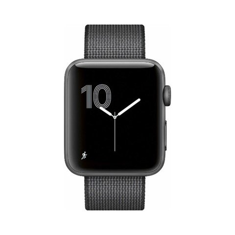  Apple Watch Series 2 42mm Space Gray Aluminum - Woven Nylon Band - MP072LL/A