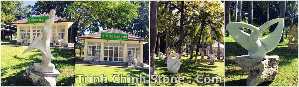 tượng trừu tượng cẩm thạch công viên 29/3 đà nẵng