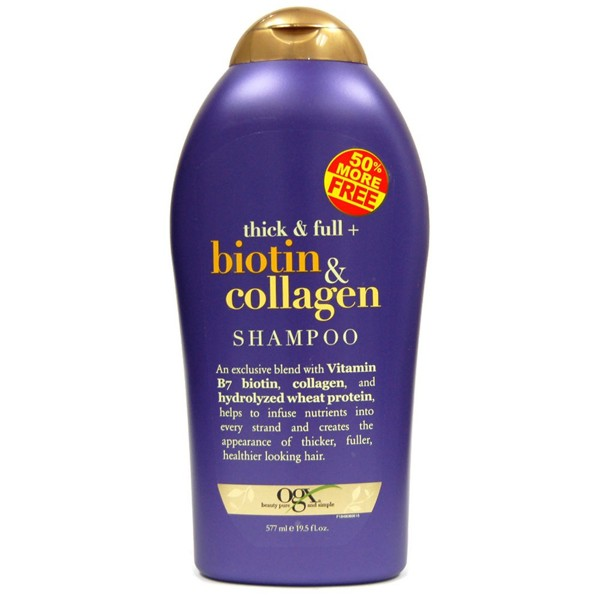 Dầu gội - xả ‪‎OGX‬ Thick and Full Biotin And Collagen 577ml