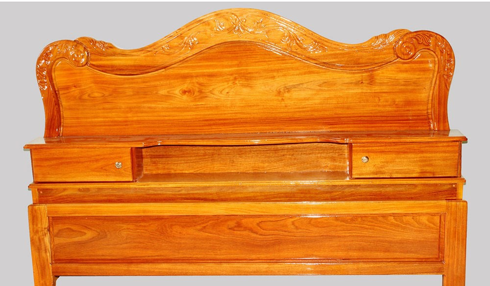 Wooden Bed 013