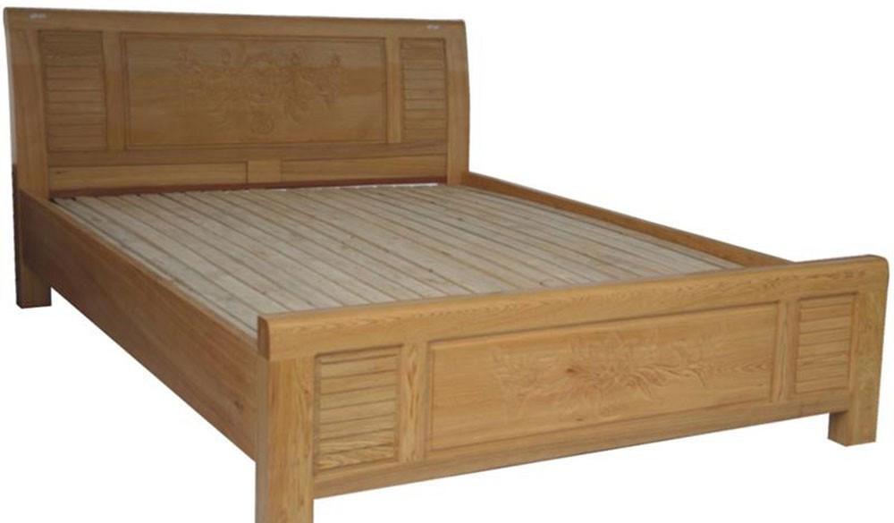 Wooden Bed 020