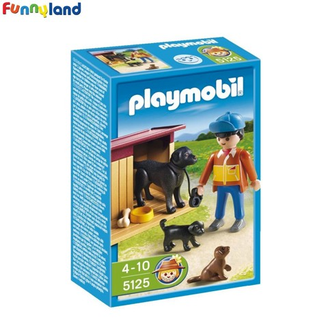 Playmobil 5125 Dog With Puppies