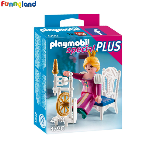 Playmobil 4790 Princess with Weaving Wheel