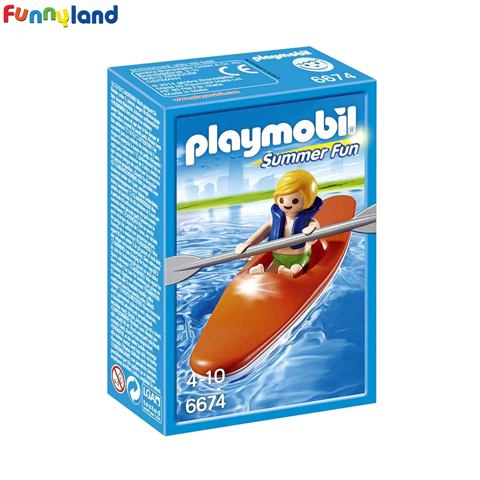 Playmobil 6674 Kid with Kayak