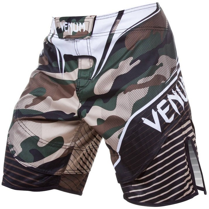 QUẦN VENUM CAMO HERO FIGHT SHORTS - GREEN/BROWN