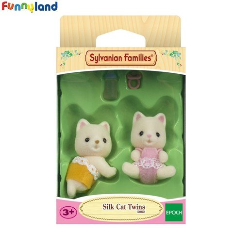 Sylvanian Families - Silk Cat Twins