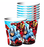 Ly giấy Avengers l 8/gói - Avengers paper cups 8/pack
