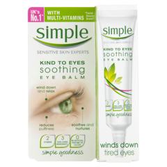 KEM DƯỠNG MẮT SIMLE KIND TO EYES SOOTHING EYE BALM WINDS DOWN TIRED EYES 15ML