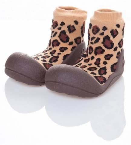 Giầy tập đi Attipas Animal Leopard Brown - AA02
