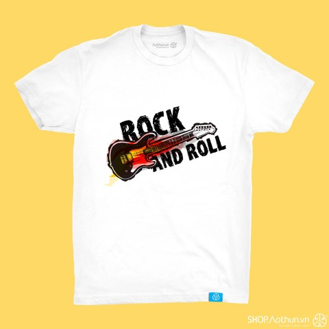 Guitar Fire Rock & Roll