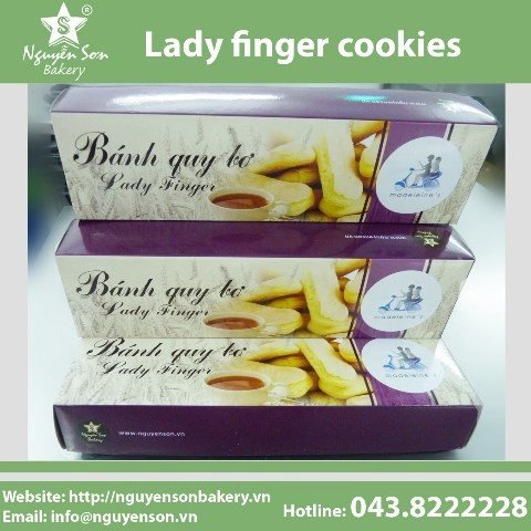 Lady finger cookies