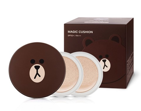 Phấn nước Gấu Missha Magic Cushion Moisture TR085
