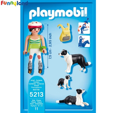 Playmobil 5213 Border Collies With Puppy