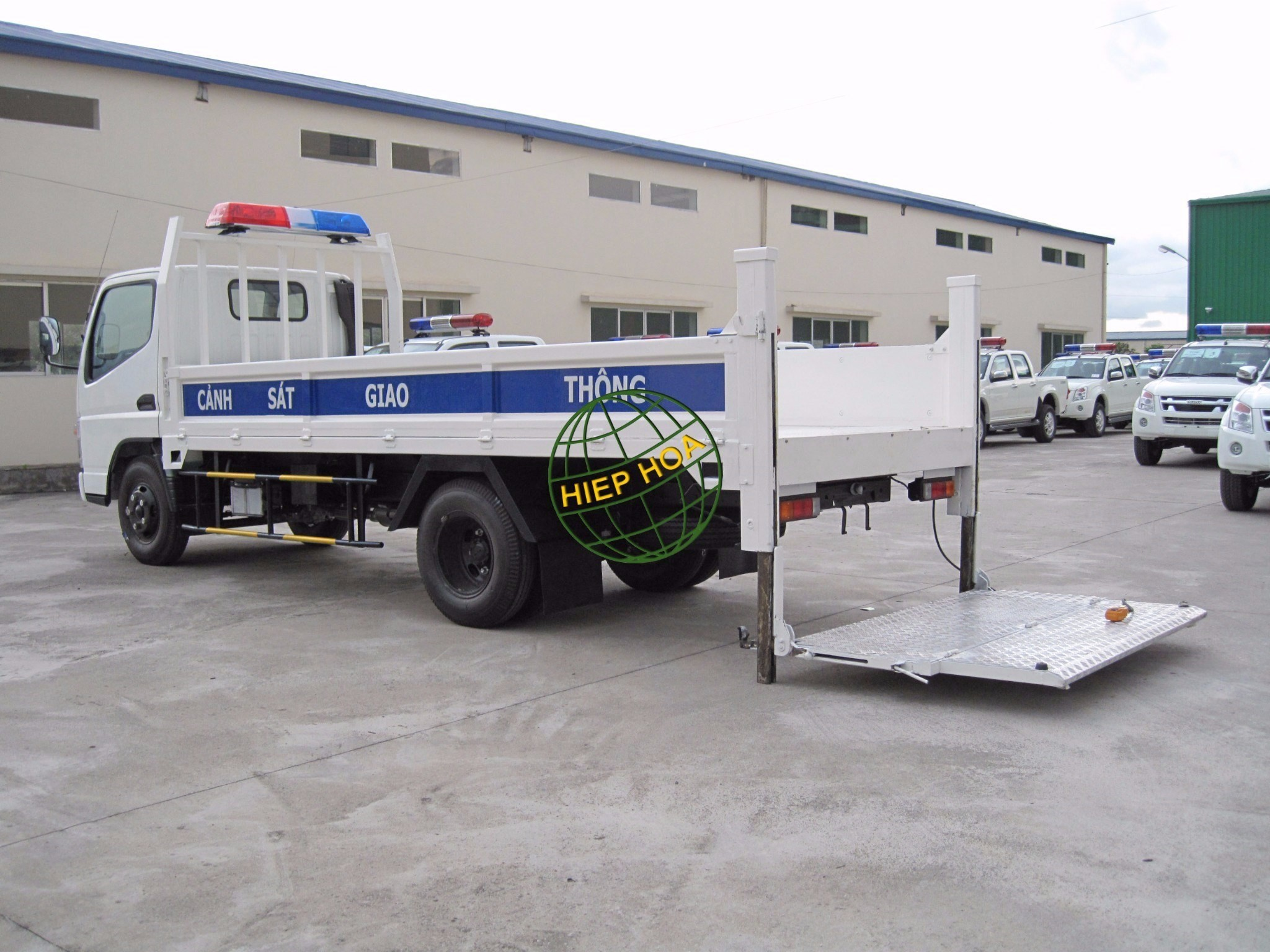 Lifting Plate Truck