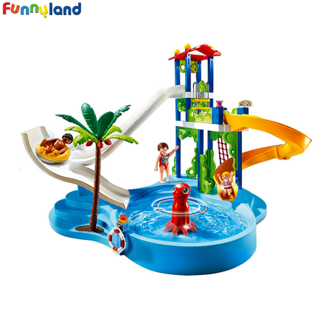 Playmobil 6669 Water Park with Slides
