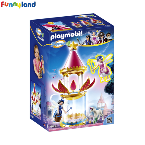 Playmobil 6688 Musical Flower Tower with Twinkle
