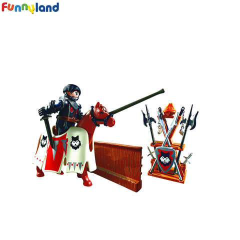 Playmobil 6696 Jousting Rypan, Guardian of the Black Baron