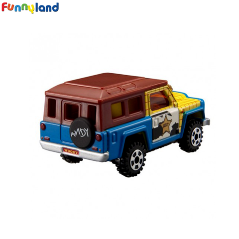 Tomica Disney Cars Excruiser Woody