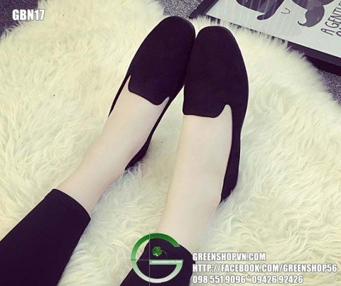 Giầy Slip on Nữ GBN17