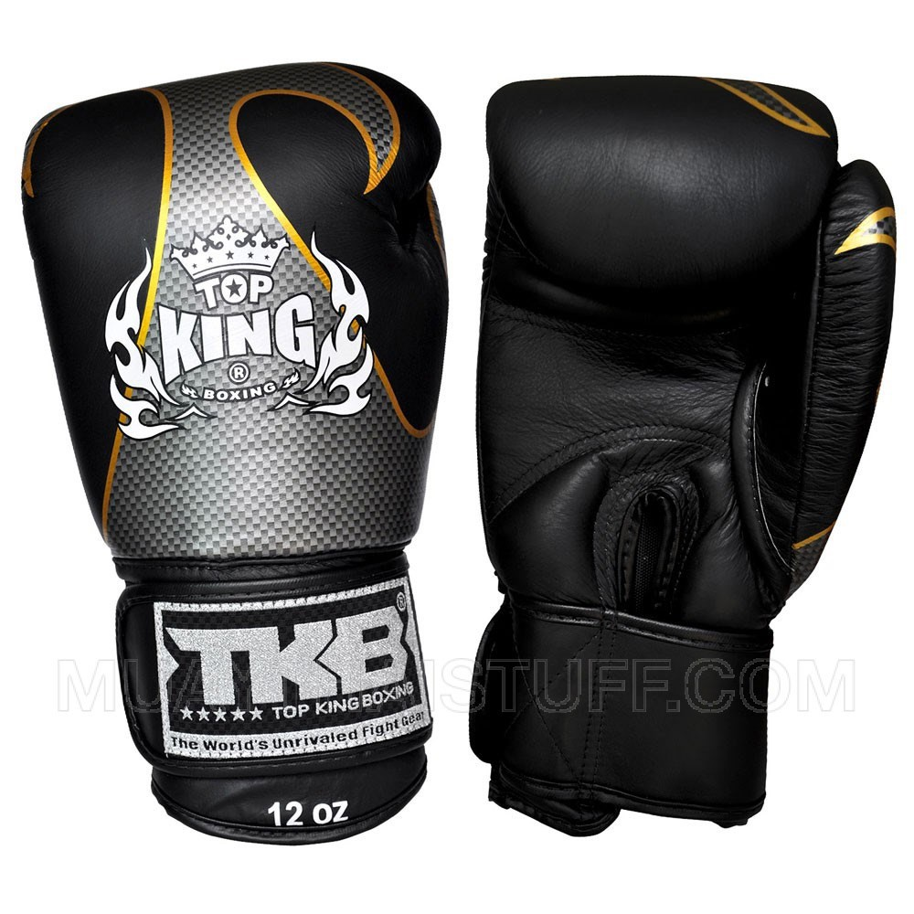 GĂNG TAY TOP KING EMPOWER CREATIVITY BOXING GLOVES - BLACK/SILVER