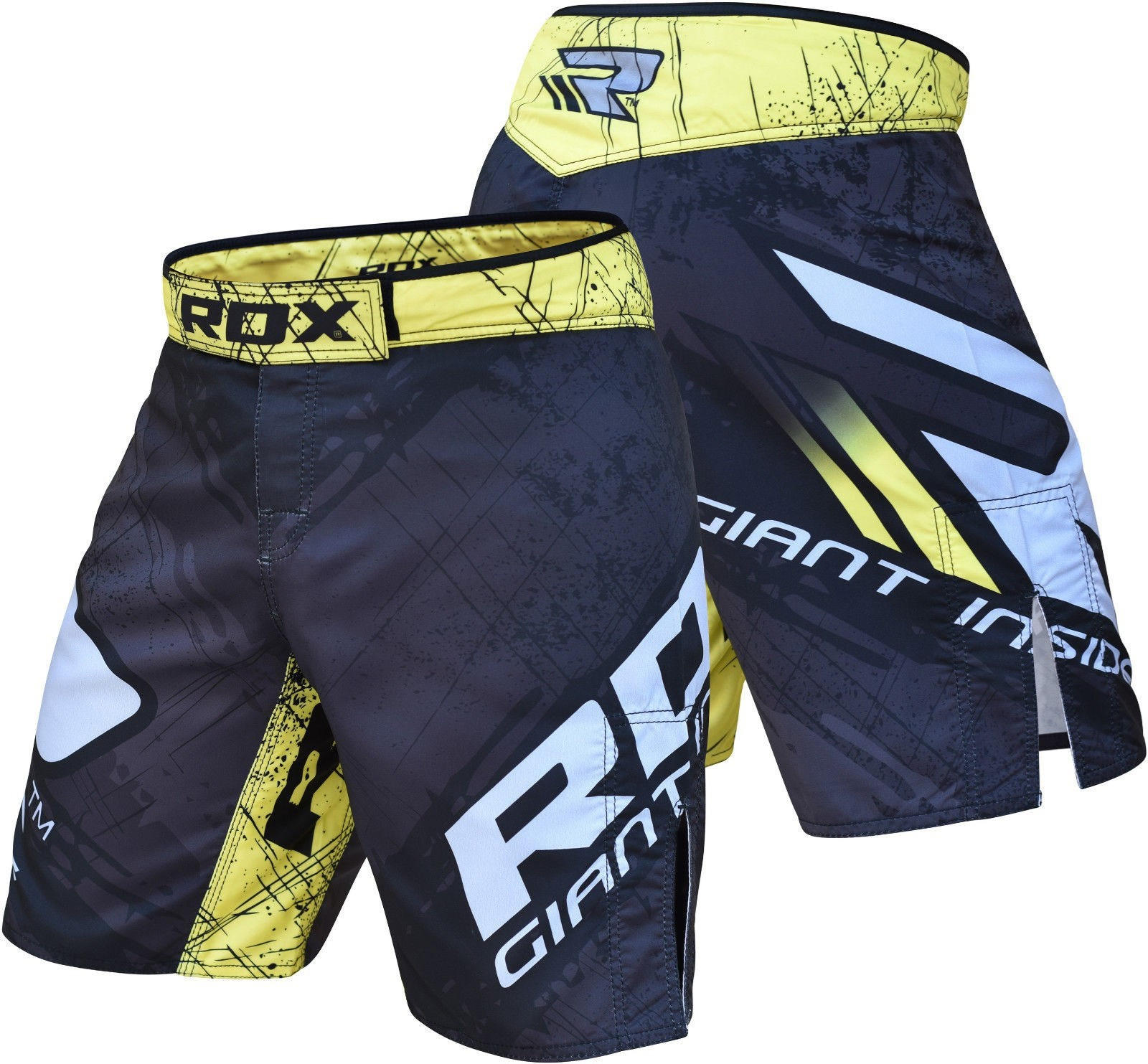RDX MMA SHORTS GIANT INSIDE