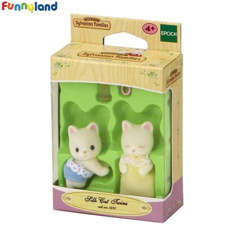 Sylvanian Families - Silk Cat Twins 2