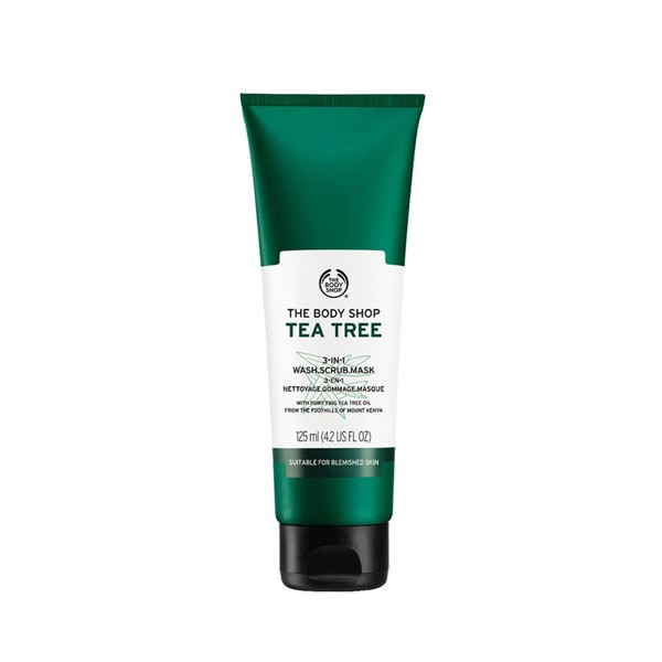 The Body Shop Tea Tree 3-In-1 Wash.Scrub.Mask 125ml