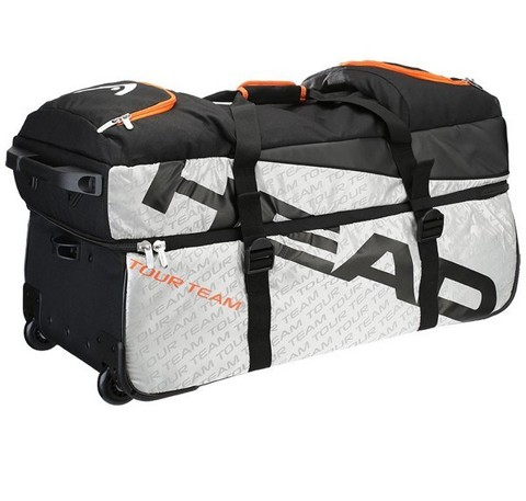 HEAD TOUR TEAM SILVER/BLACK TRAVEL BAG (283296-SIBK)