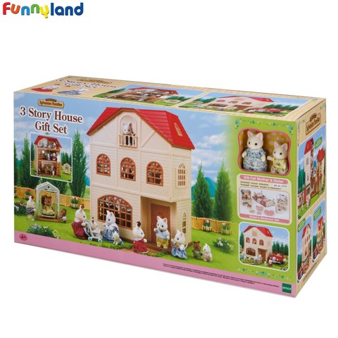 Sylvanian Families - Euro 3 Story House Gift A