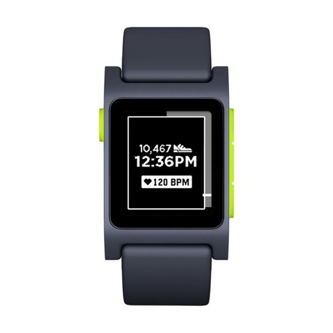 Đồng hồ Pebble 2 HR Smartwatch (Black/Lime)