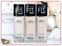 Kem nền Maybelline Fit Me Matte Natural Ivory Ivoire Naturel 112