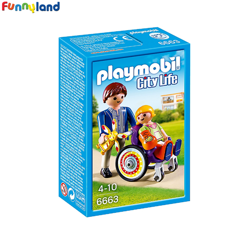 Playmobil 6663 Child in Wheelchair