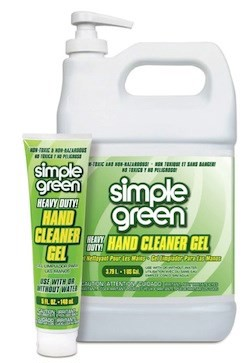 Gel rửa tay dính dầu mỡ Simple Green Hand Gel Cleaner