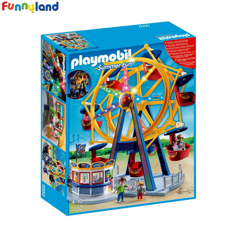 Playmobil 5552 Ferris Wheel with Lights