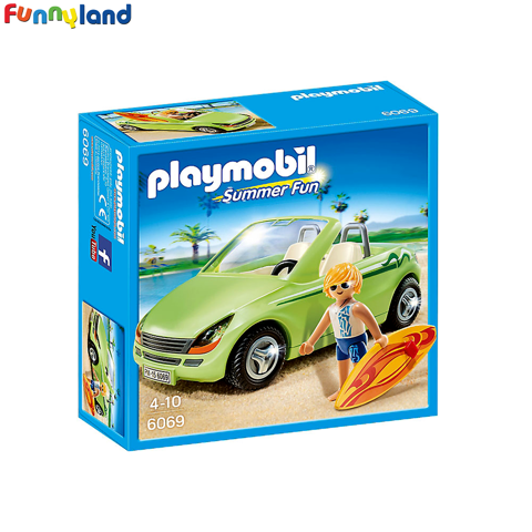 Playmobil 6069 Surfer with Convertible