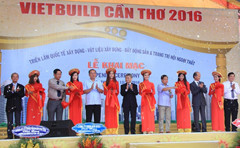 VIETBUILD International Exhibition Fair Organization JSC and Can Tho Exhibition Fair.