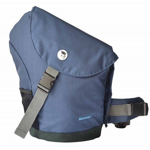 Balo Mikkor Sling Laptop Backpack Xanh navy