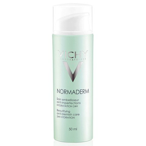 kem duong am ngay vichy normaderm beautifying anti blemish care 24h hydration