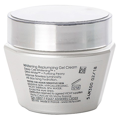 kem gel duong trang da vichy ideal white whitening replumping gel cream 02