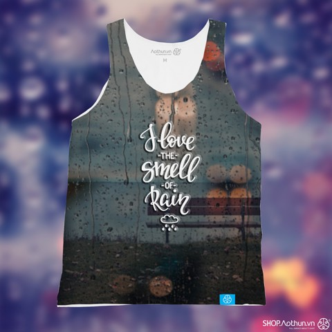 I Love The Smell Of Rain - Tank Top