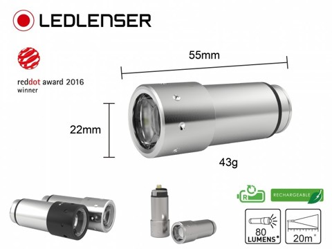 Ledlenser Automotive Silver