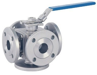 Van bi 3 ngã/4 ngã/5 ngã nối bích NEW-FLOW NH6F; 3/4/5 way flanged ball valve NEW-FLOW NH6F | Đại lý NEW-FLOW