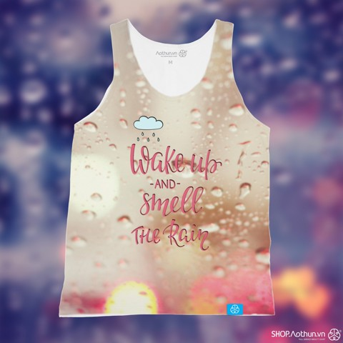 Wake Up & Smell The Rain - Tank Top