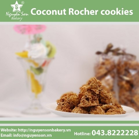 Coconut Rocher cookies